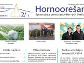 Hornoorešan - číslo 2/2015