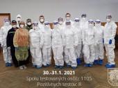 Testovanie na COVID-19, 30.1. - 31.1. 2021