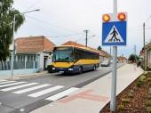 Obnovenie prevádzky zrekonštruovanej autobusovej zastávky