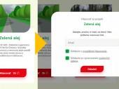 Hlasujte za zeleň v Orešanoch, hlasujte za zelenú alej