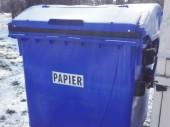 Zmena systému separovania plastov a papiera