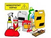 Zber nebezpečného odpadu od 6. 4. do 6. 5. 2021