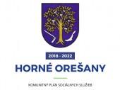 Komunitný plán sociálnych služieb obce Horné Orešany  2018 - 2022