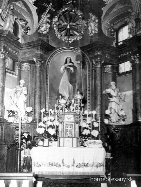 Kostol Horné Orešany