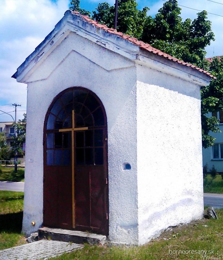Kaplnka sv. Vendelína Horné Orešany
