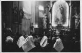 Svatba Simeona a Ireny Hodulikových , kostol v H.O., 1955