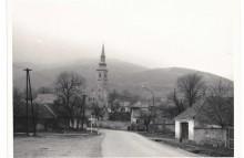 Pohľad na kostol od Lázne, archív K. Straka