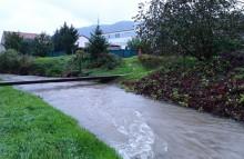 Tretí povodňový stupeň, október 2020