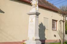 Reštaurovanie sochy sv. Floriána