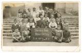 Národná škola Horné Orešany 1948 - 49, archív Viliam Sasko