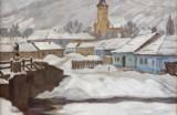 Polkoráb Štefan, O 303, Zima na dedine, 1931,olej na plátne
