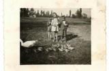 Pasenie husí - Záhumnie, Novákoví - deti, 1950