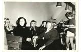 Posedenie k MDŽ vo vinnárni z JRD, archív Anna Krutá