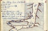Archívna mapa Husieho stoku 1 od P. Nemčeka. Zdroj: Archív SMOPaJ