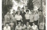 Tanečný súbor v Ledniciach 1965, archív Filka Hájičková