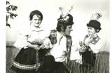 V kroji, archív Filka Hájičková