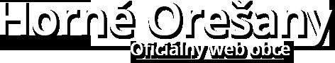 Horné Orešany - oficiálny web obce